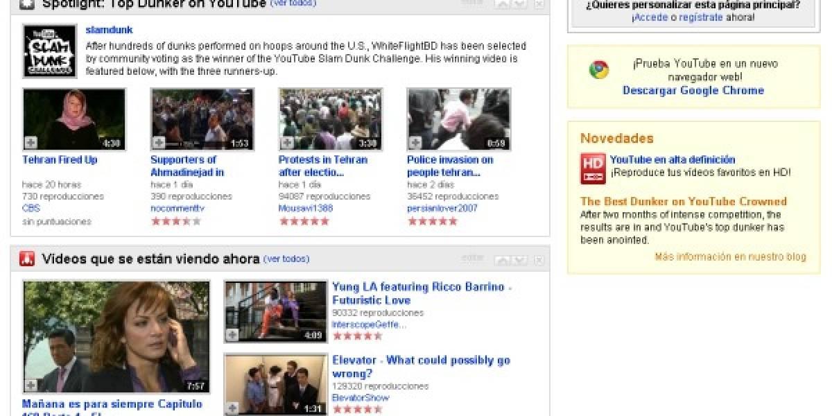 Los navegadores ahora guardan en caché los videos de YouTube