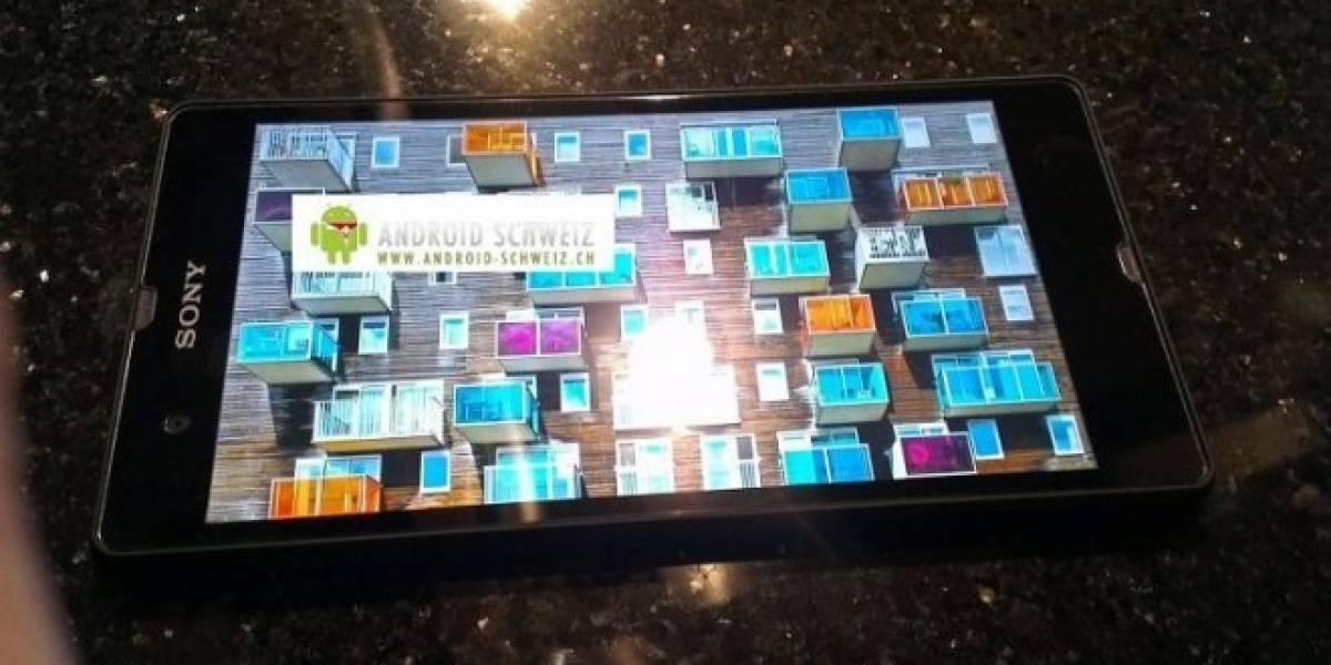 Yuga, el teléfono Sony de cinco pulgadas, se comercializará como Xperia Z