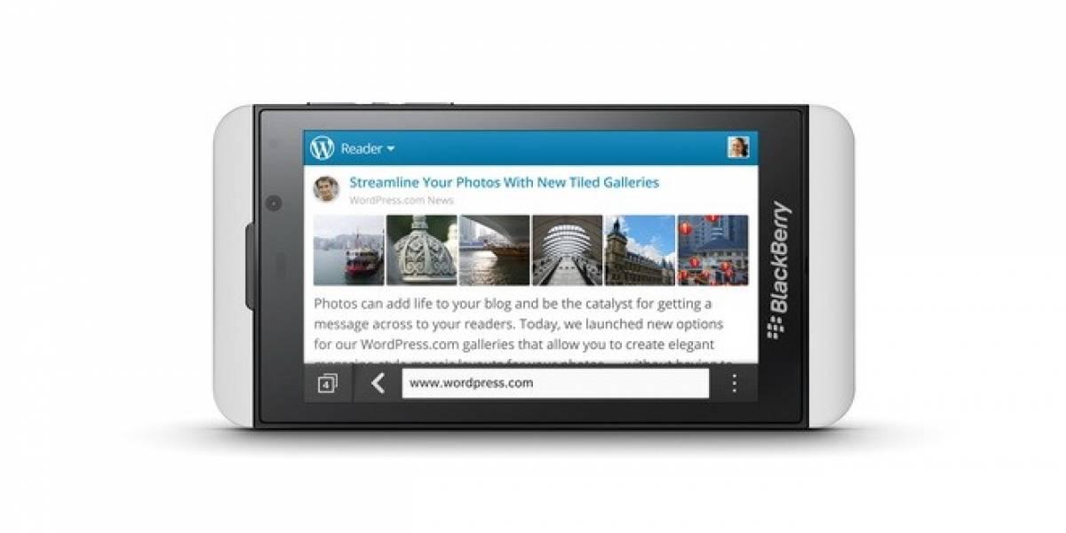 México: Llega BlackBerry Z10 exclusivo con Telcel