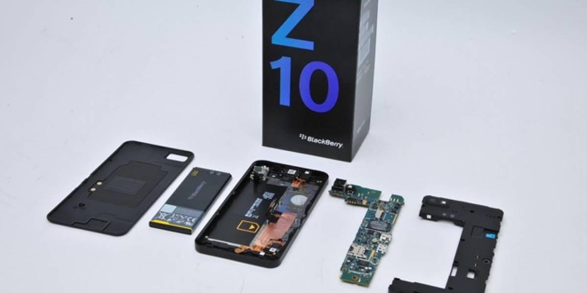 En el fondo, el BlackBerry Z10 y el Samsung Galaxy S III LTE son bastante similares