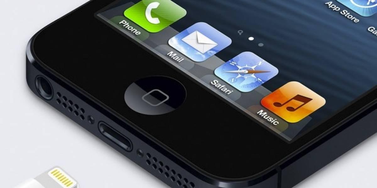 A horas de su lanzamiento, filtran sensor de huellas dactilares en el iPhone 5S