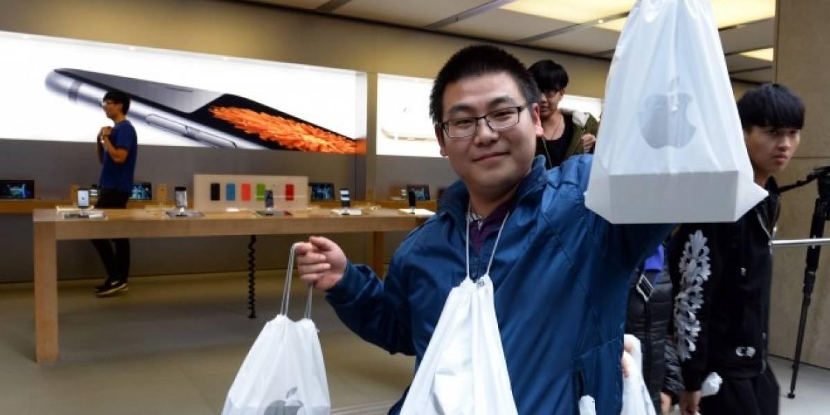 Apple vende 10 millones de iPhone 6 en un fin de semana sin China