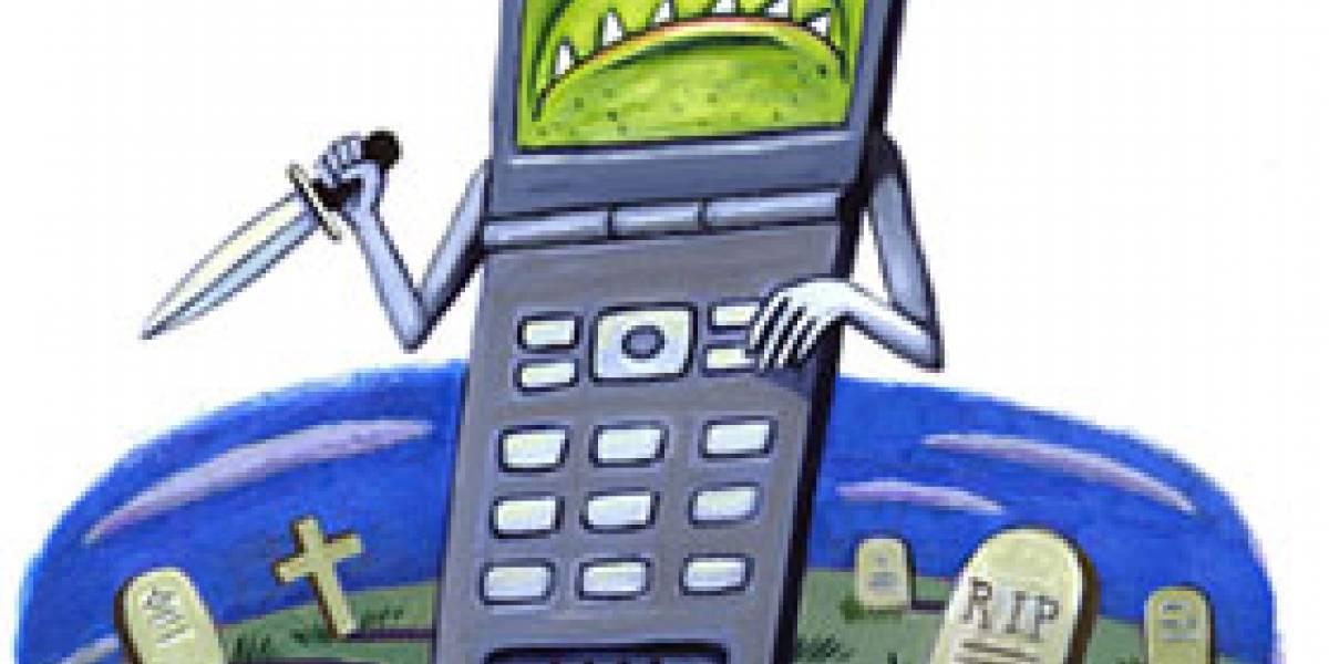 Mercado mundial de telefonía móvil en bajada
