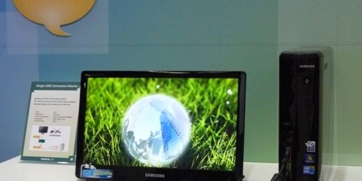 Samsung desarrolla monitor LCD alimentado por USB