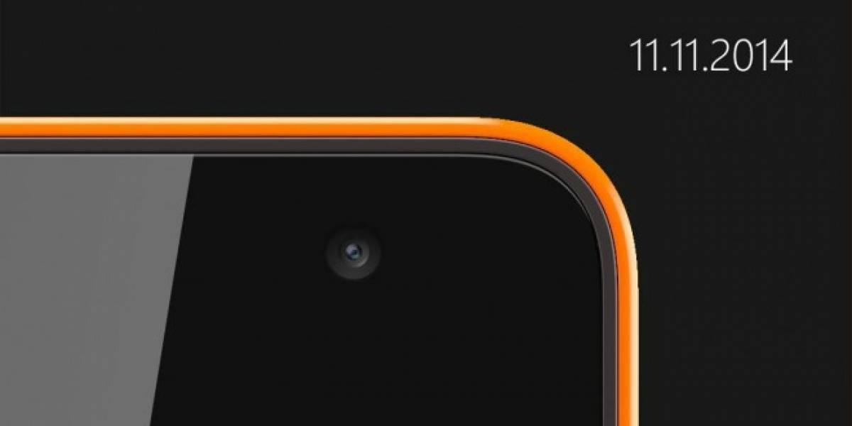 Nokia anuncia nuevo Lumia para el 11 de noviembre