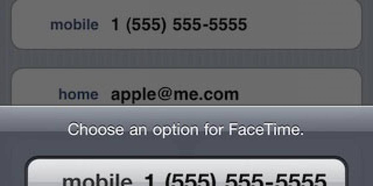 iOS 4.1 beta revela FaceTime usando correo electrónico
