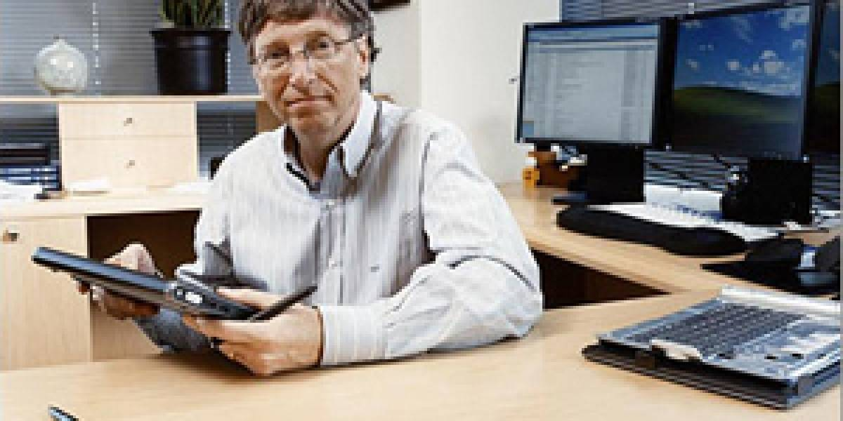 Bill Gates: Microsoft sigue trabajando en tablets