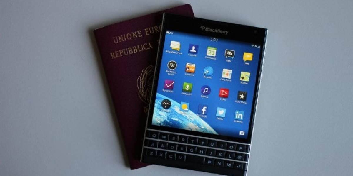 CEO de BlackBerry afirma que ya han vendido 200.000 Passports desde su lanzamiento