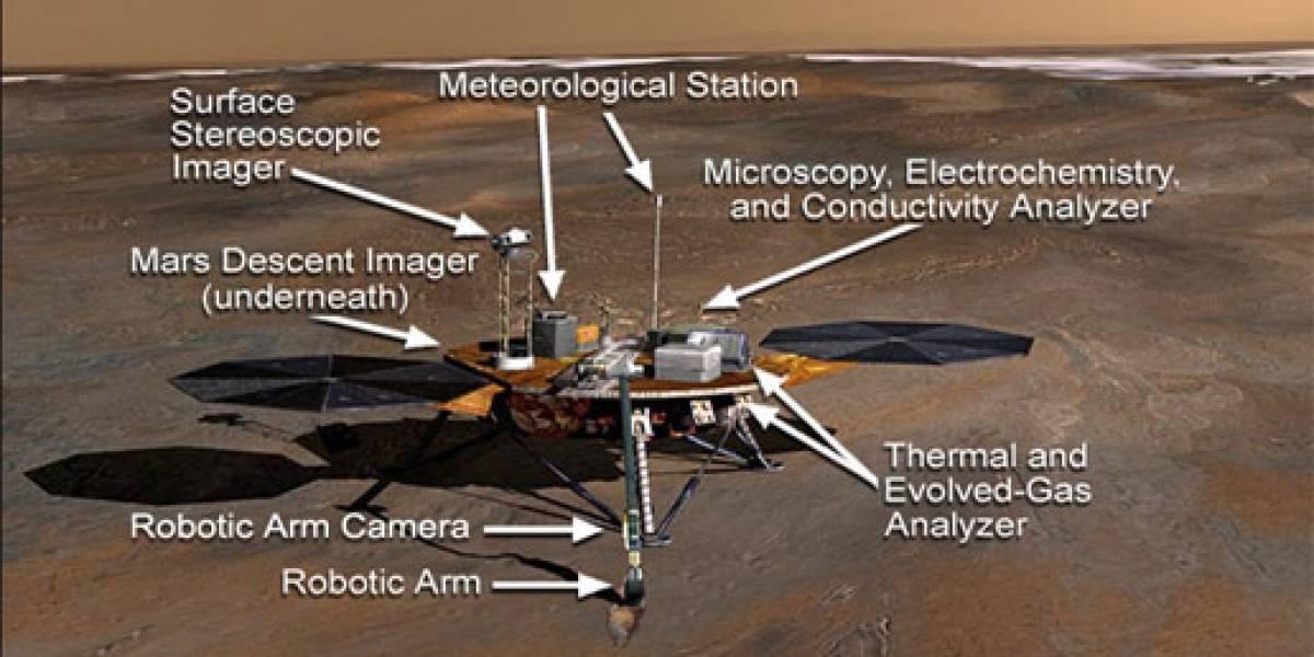 NASA da por finalizada la misión de Phoenix