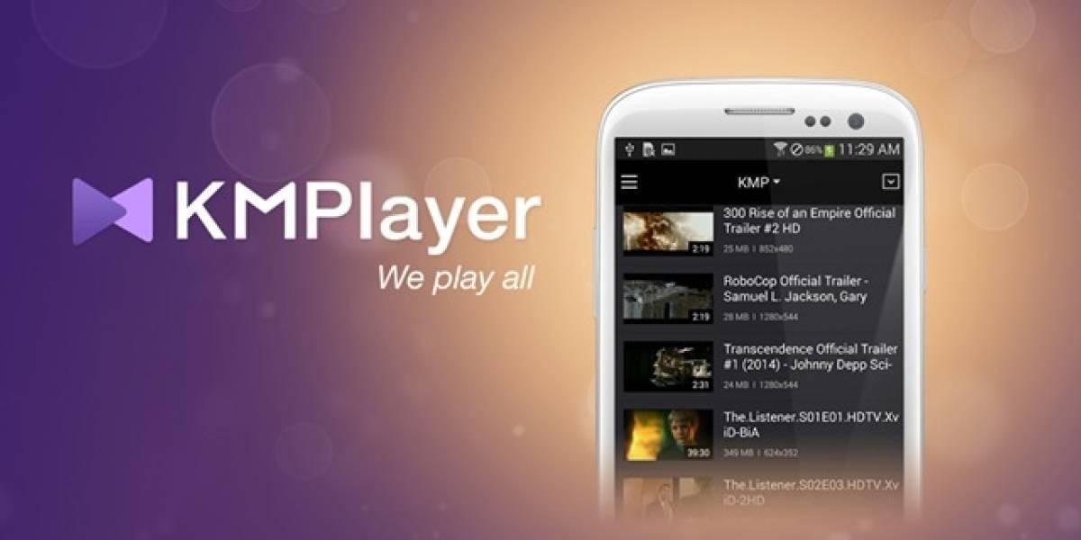 KMPlayer ahora disponible para Android y iOS