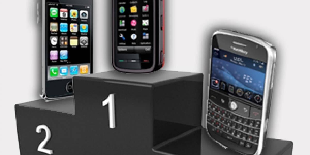 Apple ya vende más que BlackBerry