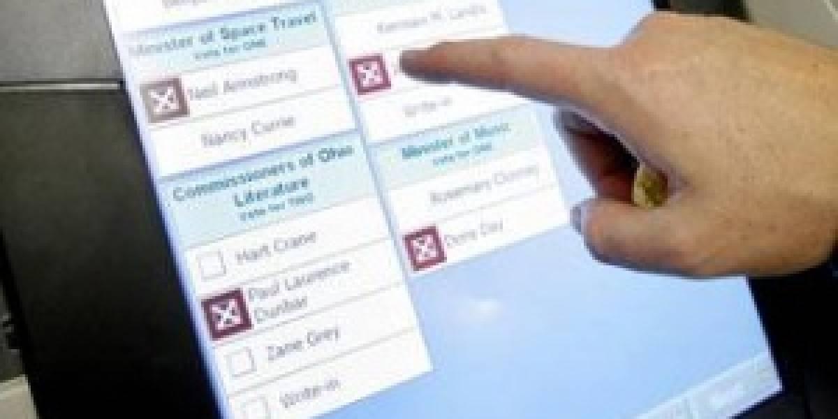 Experto cuestiona las máquinas de voto electrónico utilizadas en New Jersey