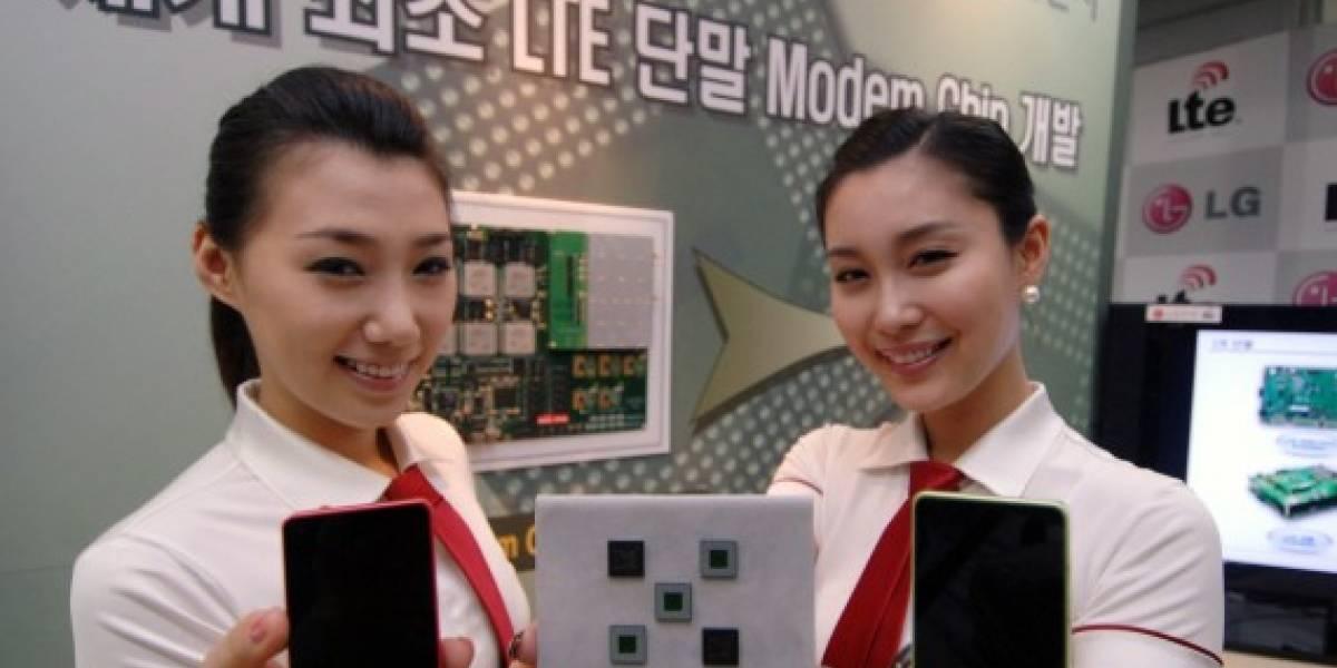 LG presenta el primer chip LTE para dispositivos móviles