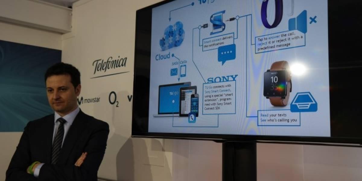 Telefónica hace alianzas con LG, Samsung y Sony para impulsar la tecnología vestible #MWC14