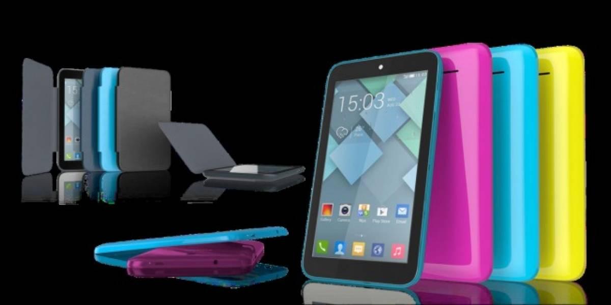 Alcatel OneTouch lanza en Chile las nuevas tablets Pixi 8 y Pixi 7