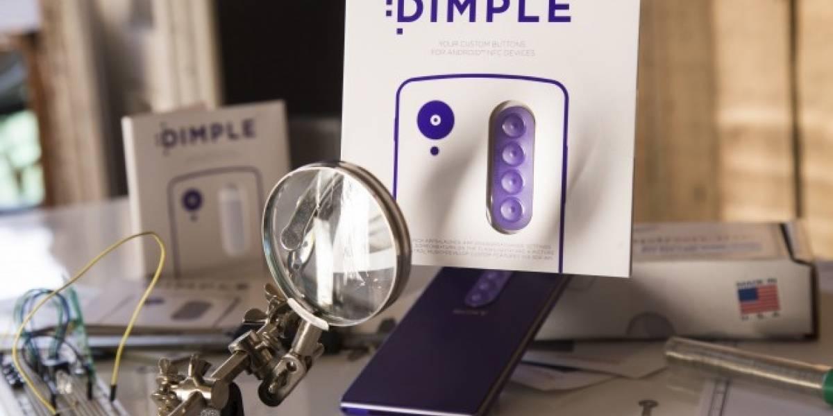 Dimple busca fondos para habilitar botones físicos en Android