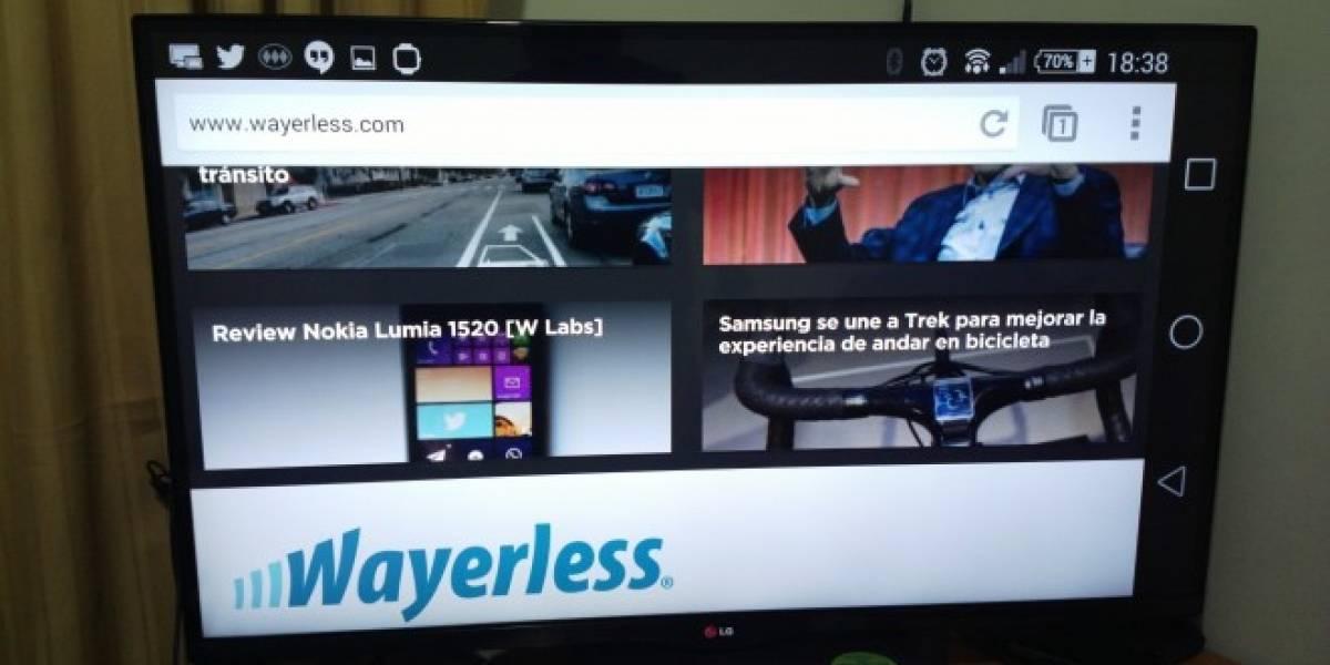 Ya puedes emitir la pantalla de tu Android en Chromecast