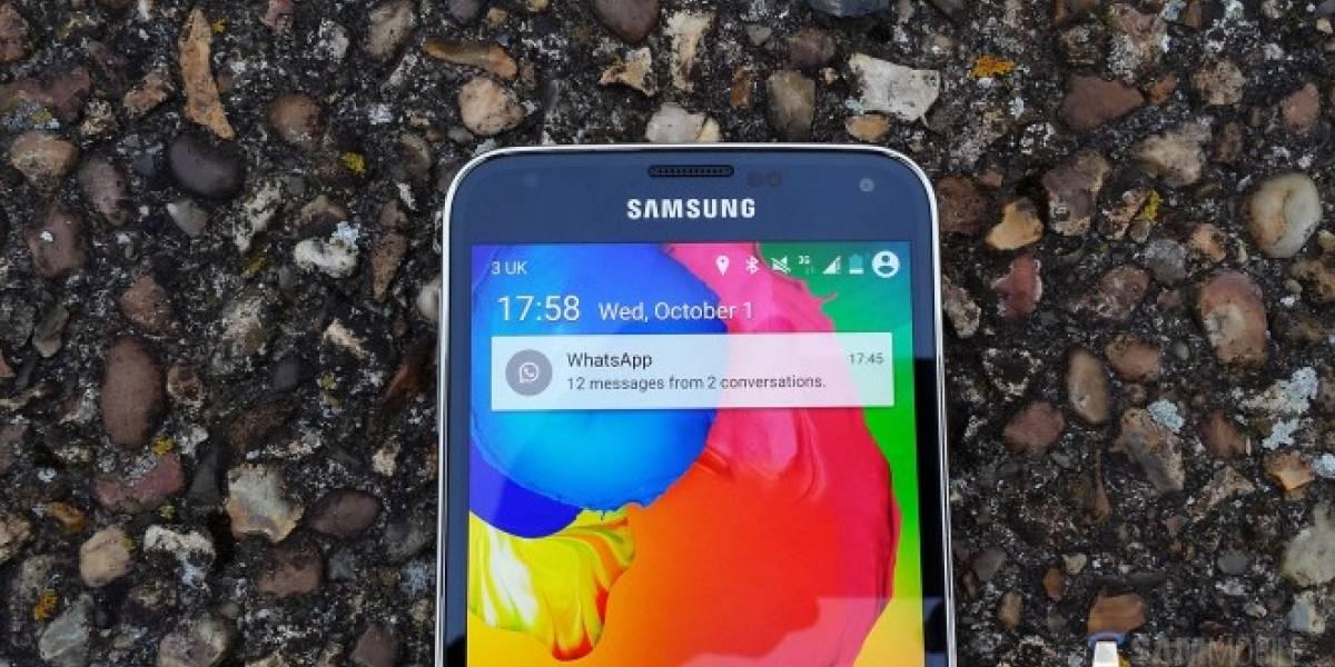 Aparece un Samsung Galaxy S5 corriendo Android L