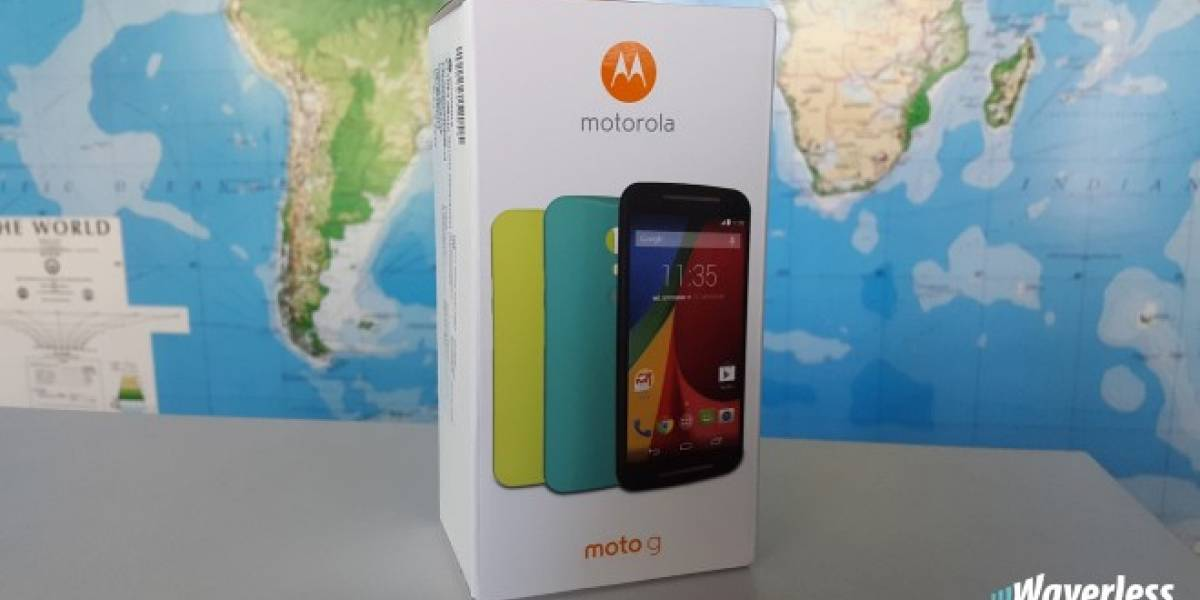 Participa y gana un increíble Motorola Moto G Segunda Generación [W Concurso]