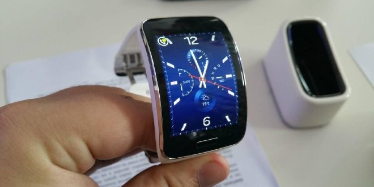 Samsung lanza en Chile a su nuevo Gear S con conectividad 3G
