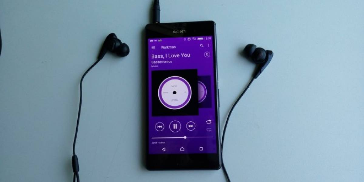 Walkman para la gama Sony Xperia Z se actualiza con Material Design