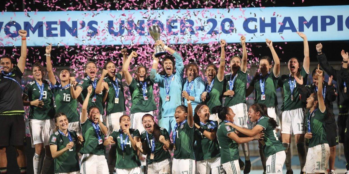 Selección Mexicana femenil Sub-20, campeona de Concacaf