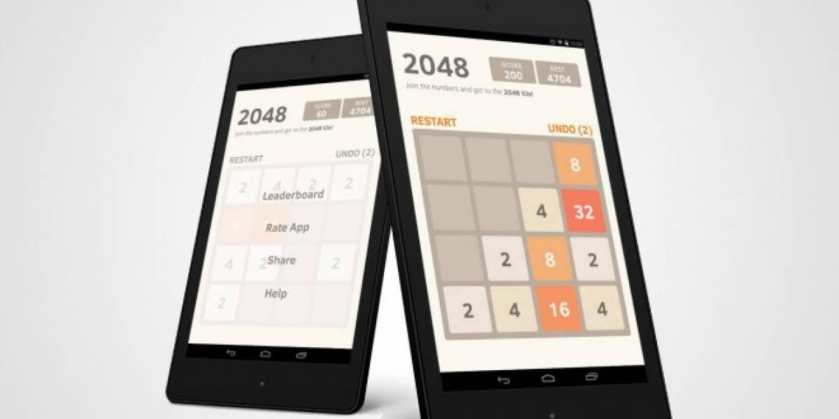 2048 es el juego más adictivo del momento