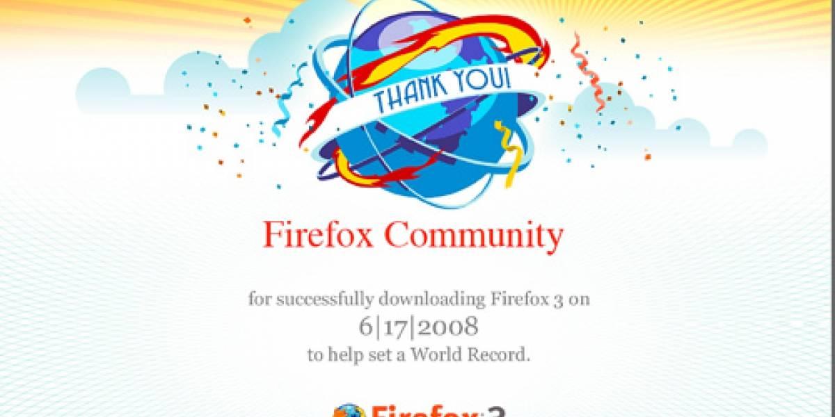 Confirmado: Firefox estableció récord Guinness