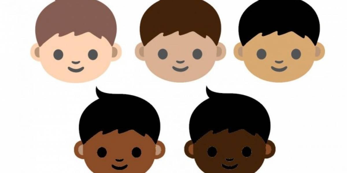 Los próximos emojis podrían tener la opción de elegir entre tonos de piel