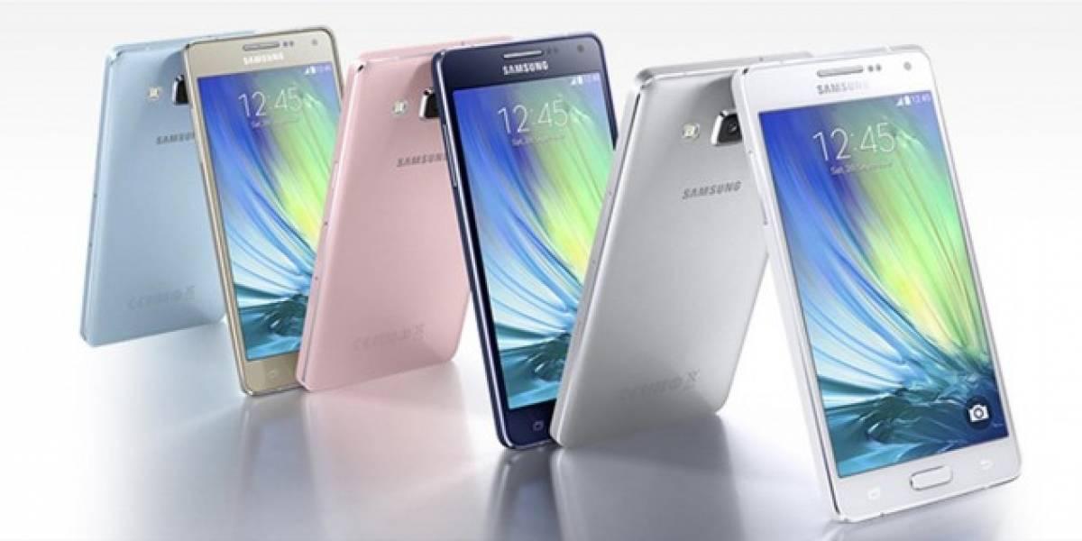 Samsung impone récord Guiness de selfies en un lanzamiento de sus Galaxy A3 y A5