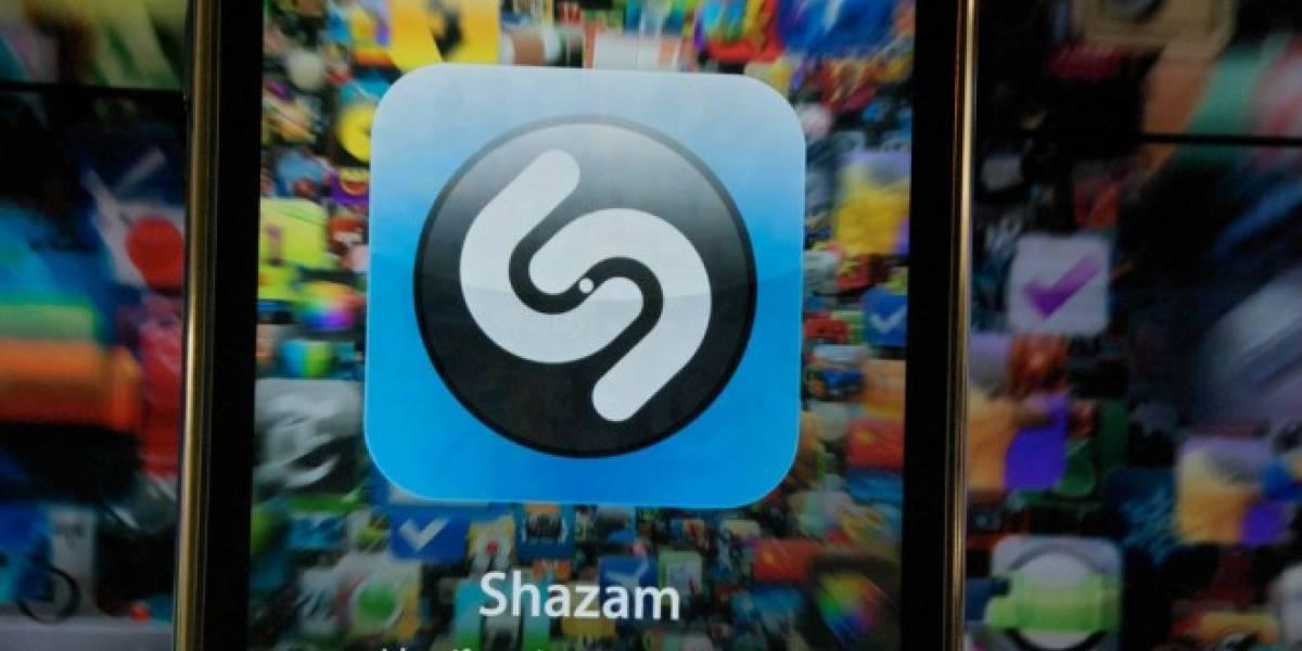Usuarios de Rdio o Spotify ahora pueden escuchar canciones a través de Shazam para iOS