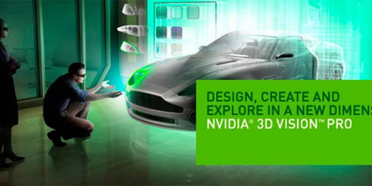 NVIDIA presenta 3D Vision Pro para desarrolladores
