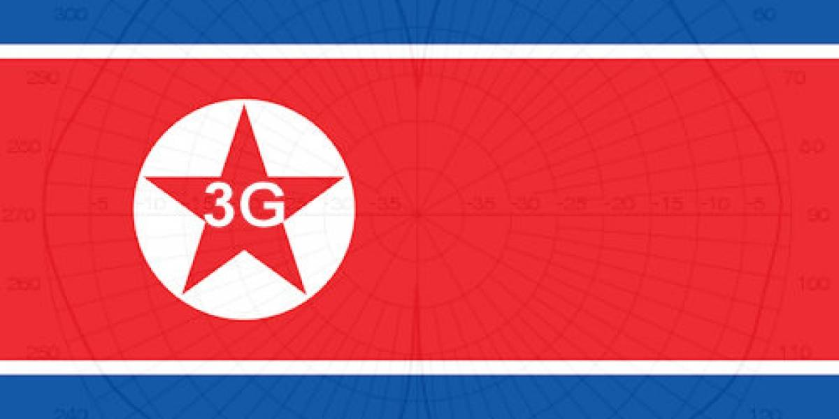 Lanzamiento de redes 3G en Corea del Norte