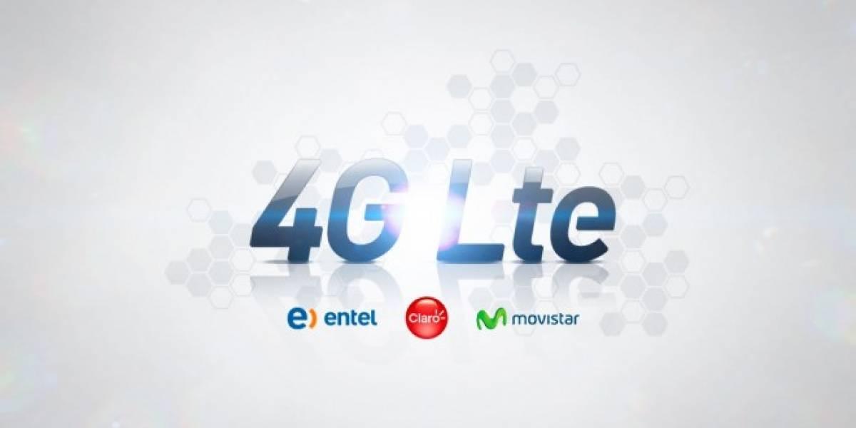 Esta es la oferta comercial 4G LTE de Movistar, Entel y Claro en Chile