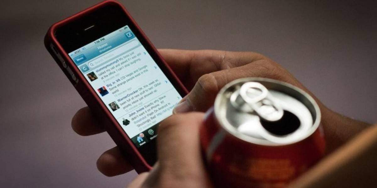 El 78% de los usuarios de Twitter publica desde su móvil
