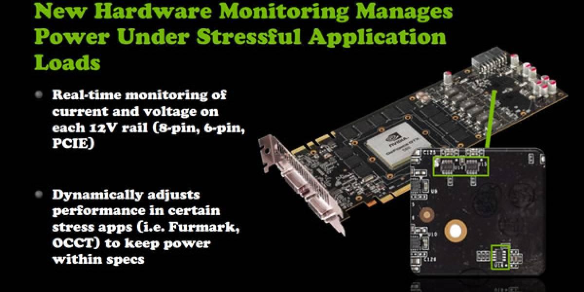 Nvidia Geforce GTX 580: Consumo y temperatura con el limitador desactivado
