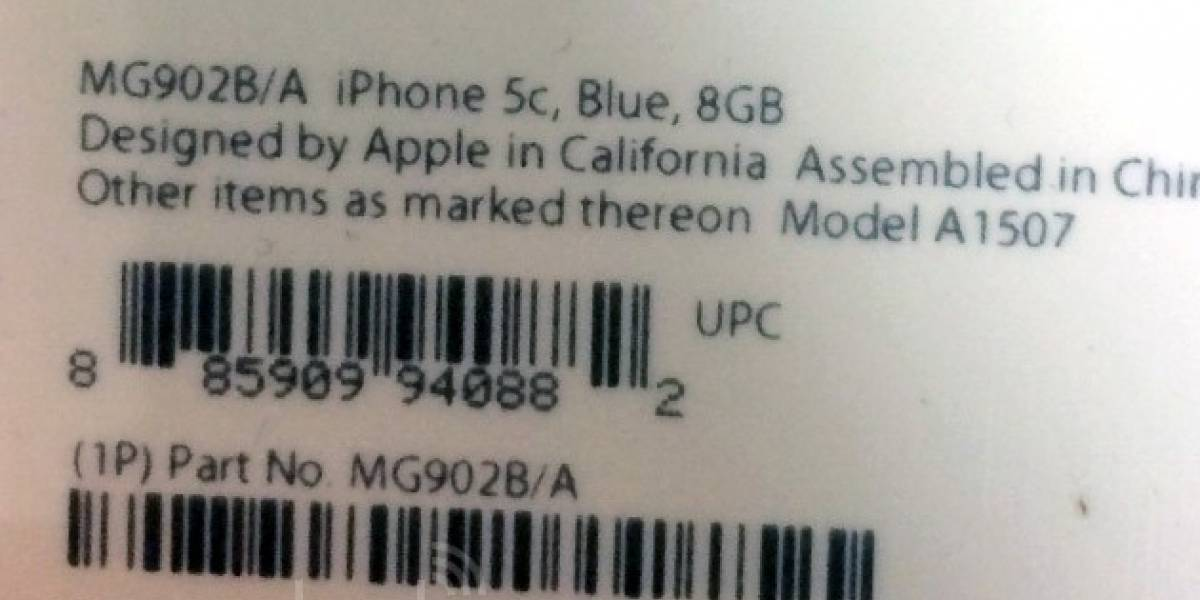 Apple mañana lanzará un nuevo iPhone 5C de 8GB