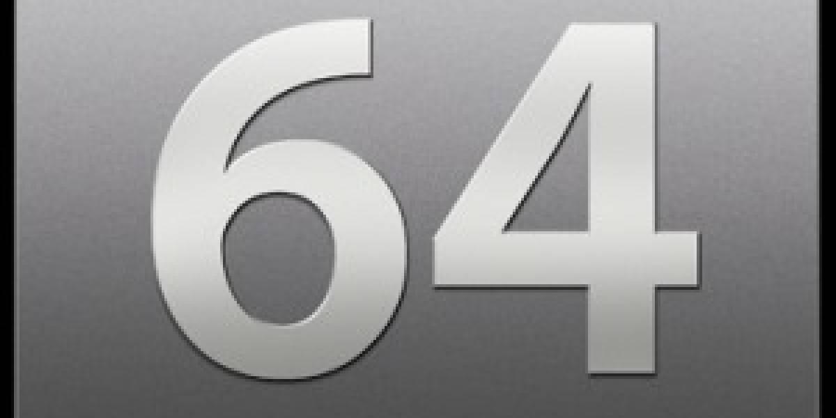 Casi el 50% de todas las PCs con Windows 7 están corriendo ediciones de 64 bits