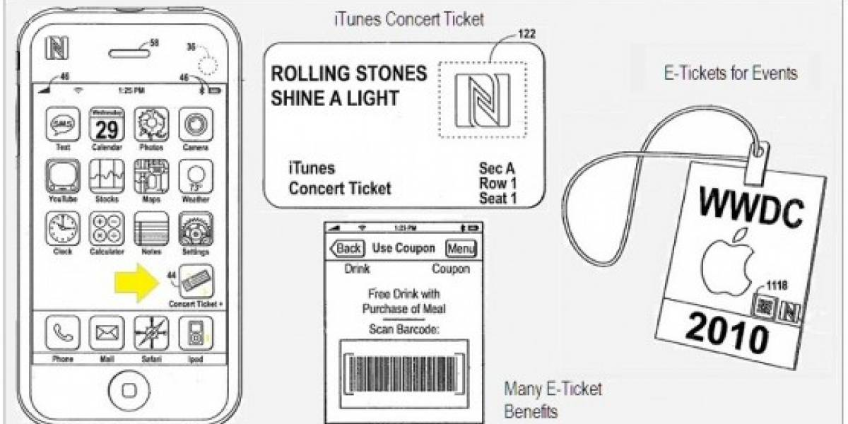 Apple patenta interacción de sus aparatos con NFC