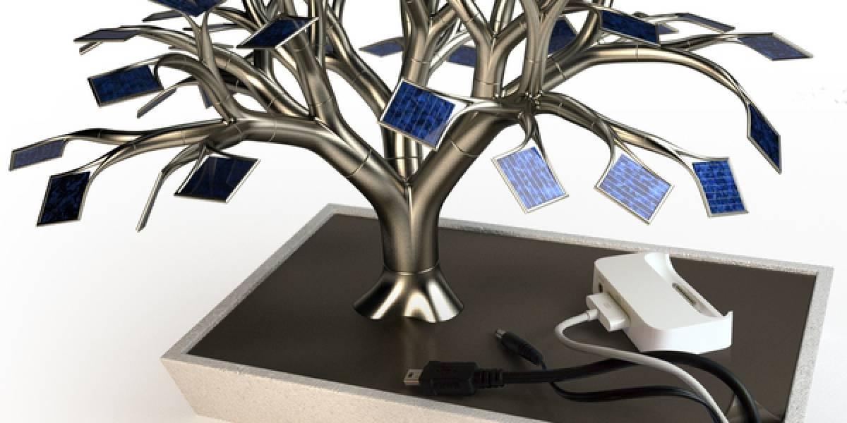 """PhotonSynthese, el """"bonsái solar"""" que carga tus gadgets"""