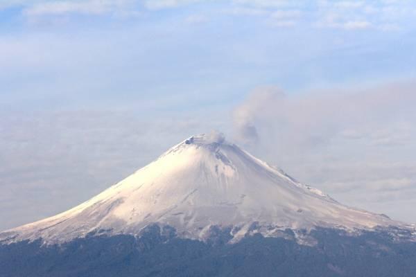 Volcán Popocatépetl.