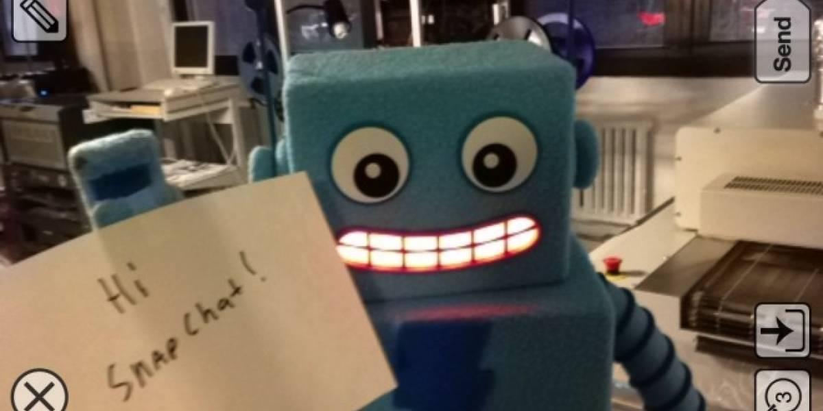 Snapchat reconoce que plagiaron la idea de la mensajería efímera