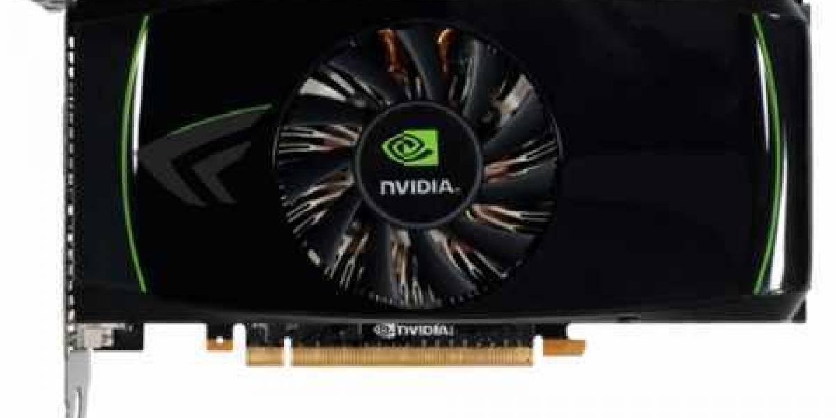 GeForce GTX 460 posa para la cámara