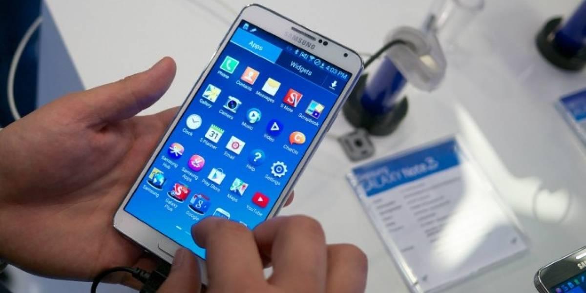 77% del tráfico web de phablets en EE. UU. corresponde a Samsung