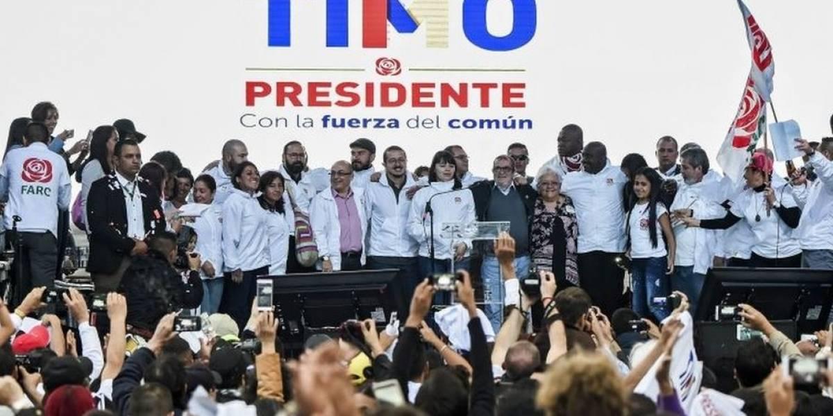 """""""Venimos a proponer un despertar general"""": el partido político FARC lanza su campaña presidencial y legislativa en Colombia"""