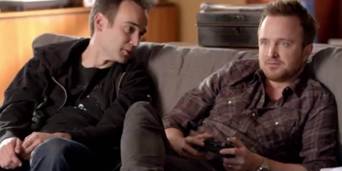 Microsoft publica comerciales de Xbox One con Aaron Paul