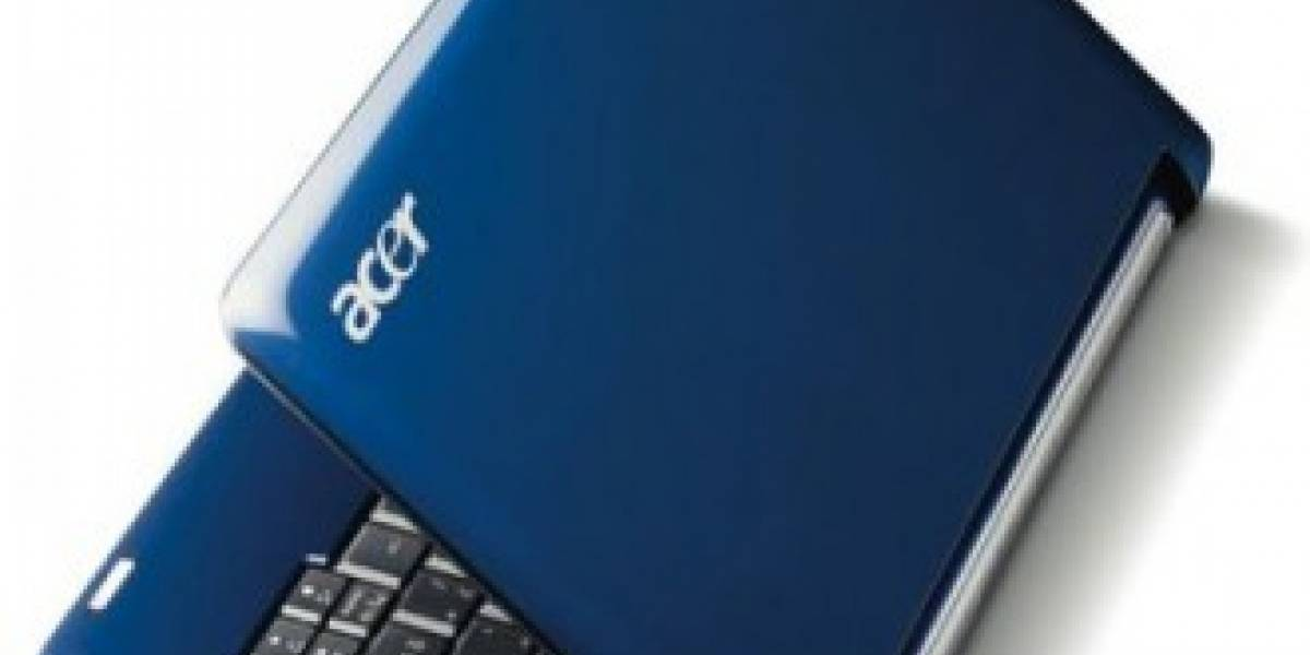 Acer espera pasar a ser el mayor fabricante de notebooks a final de año