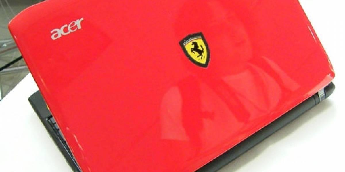Acer anuncia netbook Ferrari basado en Ontario