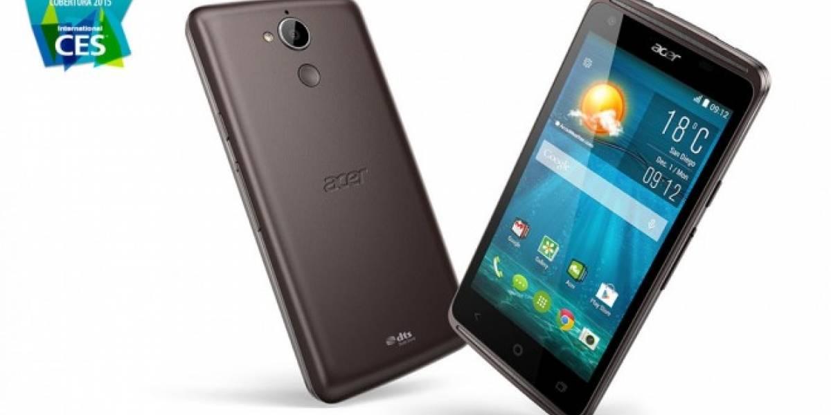 Acer Liquid Z410, un teléfono con LTE a precio accesible #CES2015