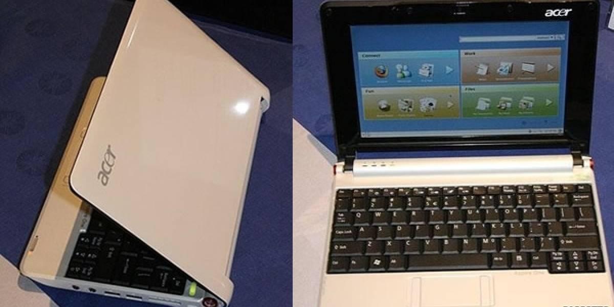 Futurología: Este sería el Acer Aspire One MiniNote